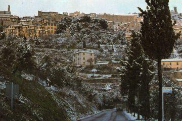 Cortona - Paesaggio Invernale
