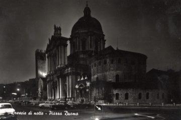Piazza Duomo - Brescia di notte