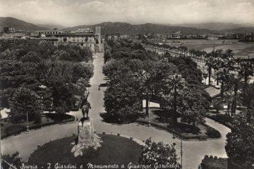 La Spezia - I Giardini e Monumento a Giuseppe Garibaldi