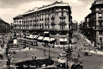 Milano - Via Dante Via Broletto