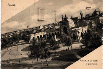 Parma - Monumento a Verdi