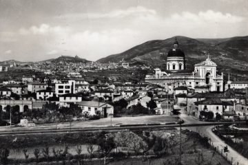 Assisi - Visone Panoramica di S. Maria degli Angeli
