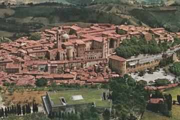 Urbino - Veduta aerea Fortezza Albornoz