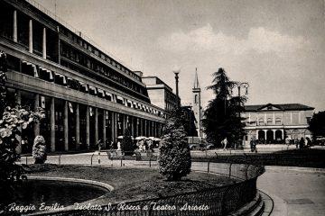 Reggio Emilia - Isolato S. Rocco e Teatro Ariosto