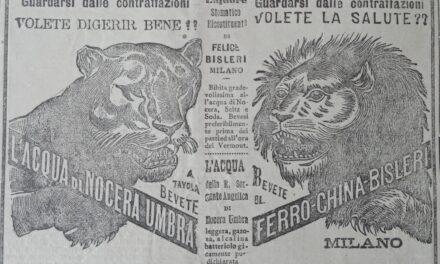 Liquore Ferro China Bisleri – acqua di Nocera Umbra