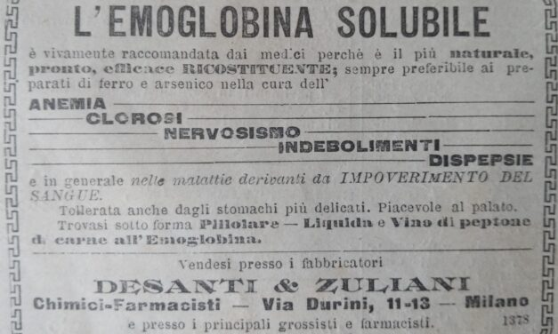 L'emoglobina solubile – Desanti & Zuliani