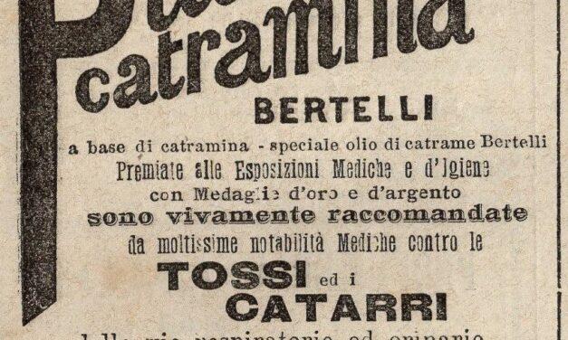 Pillole di catramina Bertelli