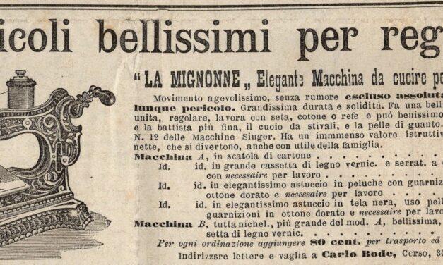 """La """"MIGNONNE"""" elegante Macchina da cucire per Signorine"""