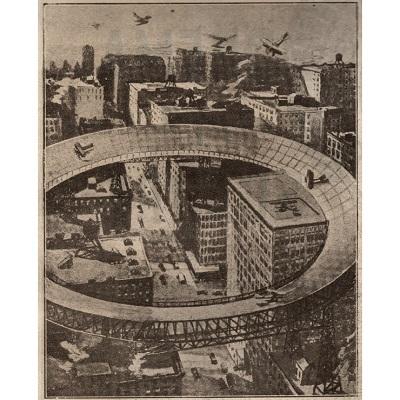 per atterrare nelle grandi città - 1919