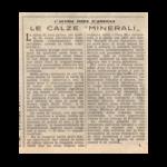 Le Calze « Minerali »