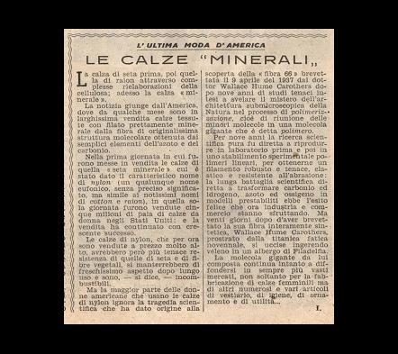 Le Calze Minerali - in Nylon
