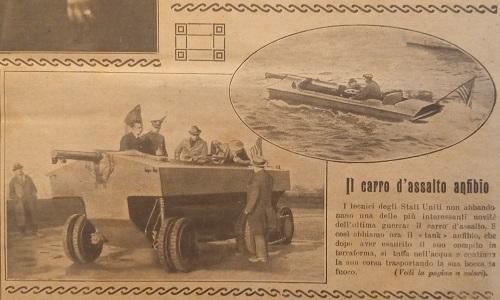 Il carro d'assalto anfibio